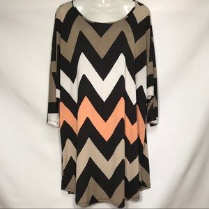 Auditions Tunic Blouse Womens Plus Size 2XL
